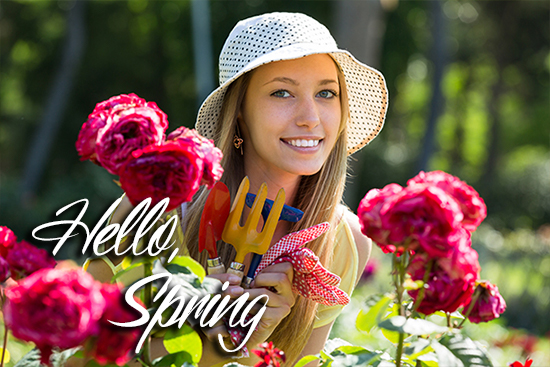 Hello, Spring! Tips for your sping garden.
