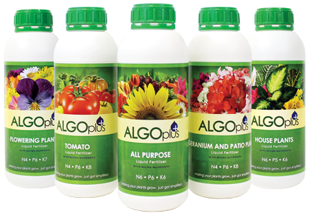 Algoplus Liquid Fertilizers. Making your plants grow, has just been simplified.