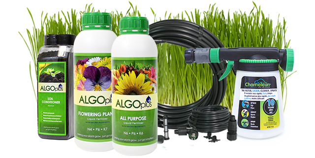 Lawn and Landscape Products from Algoplus. Make growing your lawn simple!