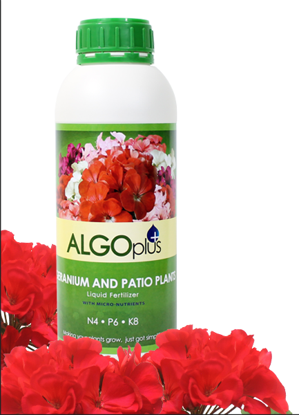 Algoplus Natural Geranium Liquid Fertilizer